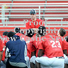 Courtney Caughey-Stambul/NEWS<br /> New Castle coach Joe Cowart talks with his team following their practice on Monday.