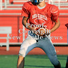 Courtney Caughey-Stambul/NEWS<br /> New Castle quarterback Julian Cox looks to handoff the football in practice on Monday.