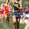 Erica Galvin/NEWS<br /> Shenango's Katie Bruce sprints her way to the finish line.