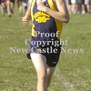 Erica Galvin/NEWS<br /> Dave Waldschmidt finds his way to the finish line.