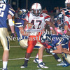 Erica Galvin/NEWS<br /> The Hopewell defense stops New Castle running back Jalen Holmes in his tracks in the first quarter.