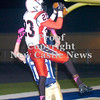 Erica Galvin/NEWS<br /> Malik Hooker catches a pass over the Hopewell defender for a touchdown in the second quarter.