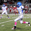 Courtney Caughey-Stambul/NEWS<br /> Tyrone May III runs the football for the Scotties.