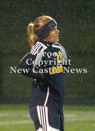 Erica Galvin/NEWS<br /> Wilmington senior Sarah Slonaker reacts after the loss to Fairview 4-1.