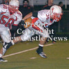 Erica Galvin/NEWS<br /> Kienan Owens breaks into the open field in the third quarter.
