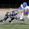Courtney Caughey-Stambul/NEWS<br /> Union's Ben Young brushes off a tackle attempt by Beth-Center's Cody Durant.