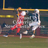 Erica Galvin/NEWS<br /> Eli Owens breaks up a pass to Monessen's Irvin Green in the fourth quarter.