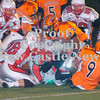 Erica Galvin/NEWS<br /> The Neshannock defense stops Tyler Boyd on the goaline in the second quarter.