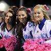 Courtney Caughey-Stambul/NEWS<br /> Union cheerleaders sport pink pom-poms and pink bows.