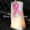 Courtney Caughey-Stambul/NEWS<br /> Pink ribbon luminaries line the track at Union.