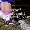 Courtney Caughey-Stambul/NEWS<br /> A Union player sports pink socks and shoelaces.