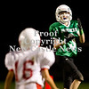 Scott R. Galvin / NEWS<br /> Riverside's Justin Baust makes a reception in the third quarter against Neshannock during the junior high football championship match at Riverside on Thursday.  RIverside won 59-6 and went undefeated for the season.