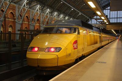 21st Mar TGV at St Pancras
