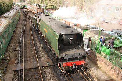 25th Feb 2012 Mid Hants Railway