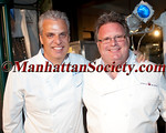 "NEW YORK - JUNE 4:Eric Ripert, David Burke attends 27th Annual Chefs' Tribute to Citymeals ""Knives! Camera! Action! Star Chefs Salute the Silver Screen for the Benefit of Citymeals-on-Wheels"" on on Monday, June 4, 2012 at Rockefeller Center, New York City, NY (Photos ©2012 ManhattanSociety.com by Christopher London)"