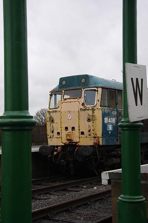 28th December 2012 Epping Ongar Railway