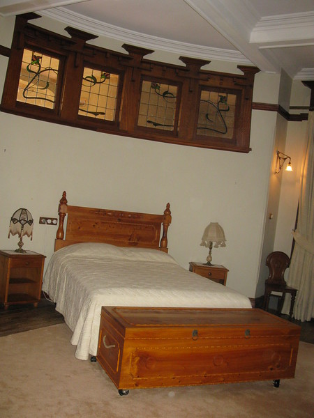 Mrs Greene's bedroom
