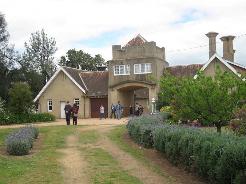 The stables. Don and Carmen in front, Scott and Brenda to the rear