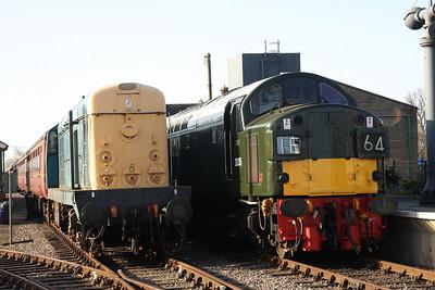 31st Mar - 3rd Apr 2012 Mid Norfolk and North Norfolk Railways