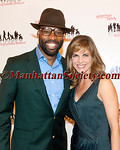 Baron Davis, Natalie Morales attend A Tribute to Families Gala benefiting The Ackerman Institute for the Family on Monday, October 22, 2012 at The Waldorf Astoria Hotel, New York City (Photos by Christopher London ©2012 ManhattanSociety.com)
