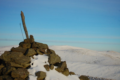 A snowy walk to the summit of Colsnaur - 02/12/2012