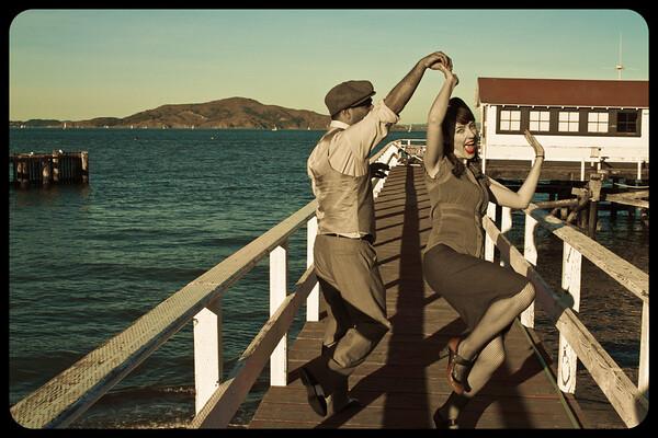Cat'Corner Swing Dance Instructors San Francisco