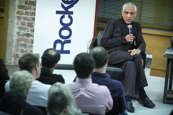 Fireside Chat with Vinod Khosla & Kym McNicholas- RocketSpace