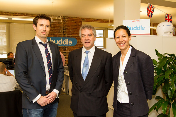 Huddle and Sir Peter Westmacott