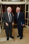Prof  Bernard Lewis and AIFL Chairman Kenneth J  Bialkin
