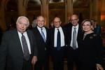 Prof  Bernard Lewis, Jacob Frenkel, Sami Sagol, Prof  Joseph Klafter, Tova Sagol