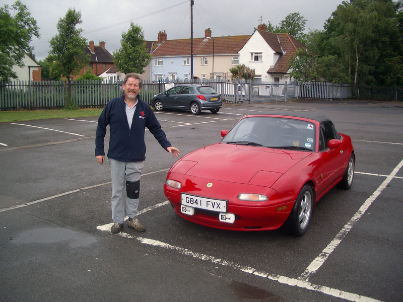 Spence and Mazda