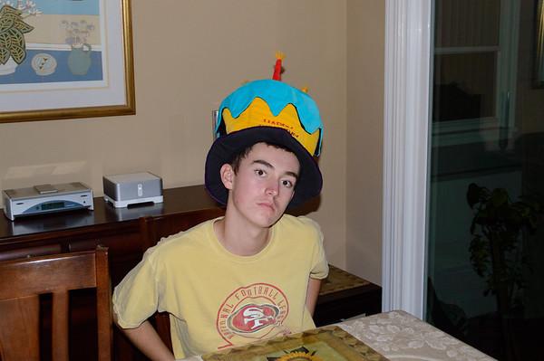 Adam's 15th Birthday