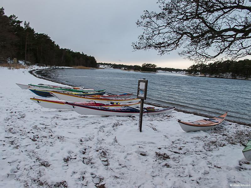 Nästa dag hade kylan skruvats upp ytterligare.