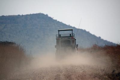 East Serengeti - dusty travels