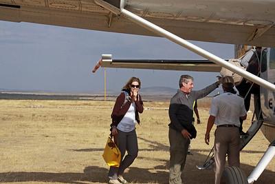 East Serengeti - Flight to Arusha