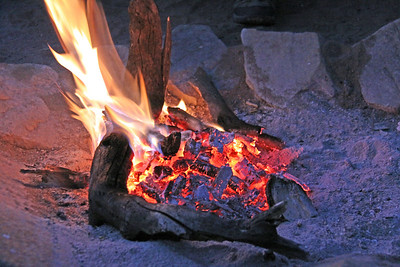 East Serengeti - cozy fire