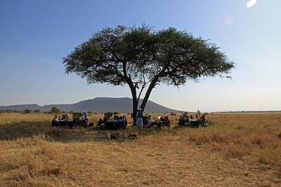 Serengeti - Balloon Flight - Breakfast Site