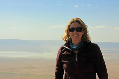 Ngorongoro Crater - Lynn!