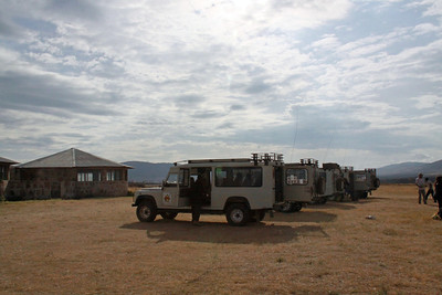East Serengeti - Flight to Arusha - a small airport...