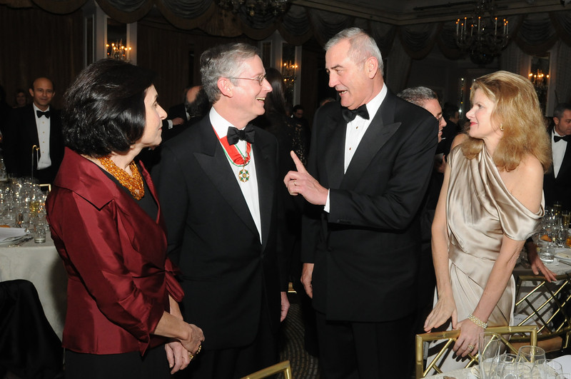 Dr Caren Heller, Dr Michelassi, Amb Ronald Spogli, Mrs Georgia Spogli (Photo Credit: ASLIM by Walter Karling)