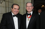 Justice Antonin Scalia and Dr Michelassi (Photo Credit: ASLIM by Walter Karling)