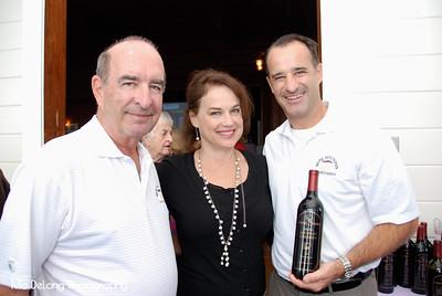 Bill Broll, Kelly Tyler and Brandon Broll
