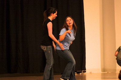"""""""What Sign is it Anyway?"""" is performed during Deaf Performance Night"""