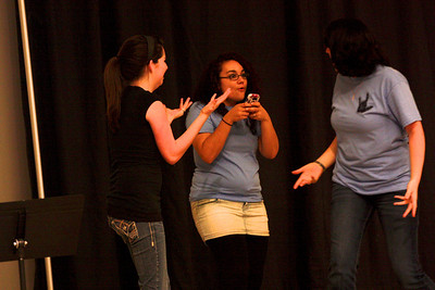 """What Sign is it Anyway?"" is performed during Deaf Performance Night"