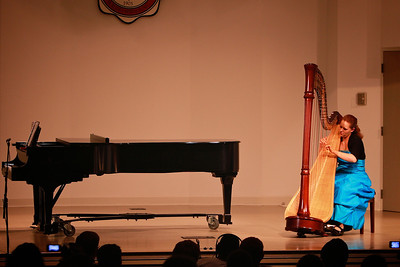 Harp performance by Mary Hannah Blalock, Harpist, in Blanton Auditorium; April 03, 2012.