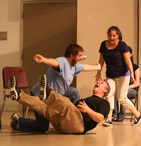"""""""The Emergency Room"""" skit is performed at Deaf Performance Night held Friday, April 20th."""