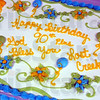 Celebration: Detail photo of cake for seniors being honored at the Lost Creek Baptist Church Sunday afternoon.