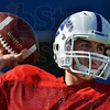On target: Indiana State's Trent Lancaster throws to a teammate during team practice Friday at Memorial Stadium.