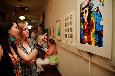 Senior Art Show; Spring 2012.