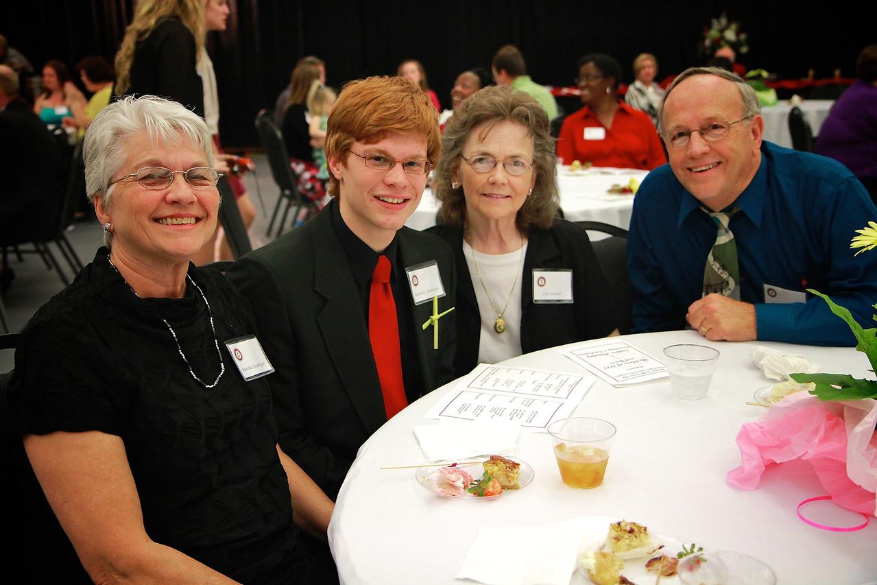 Senior Pinning Ceremony; Spring 2012.